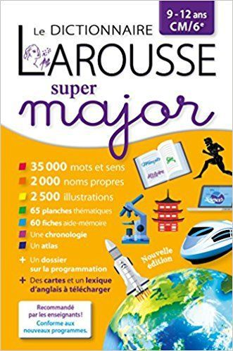 dictionnaire Super major 9/12 ANS