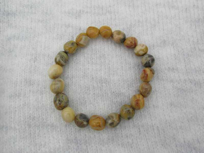 Bracelet Agate Crazy Lace D8MM